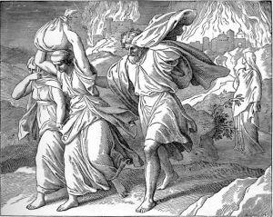 Lot Flees Sodom