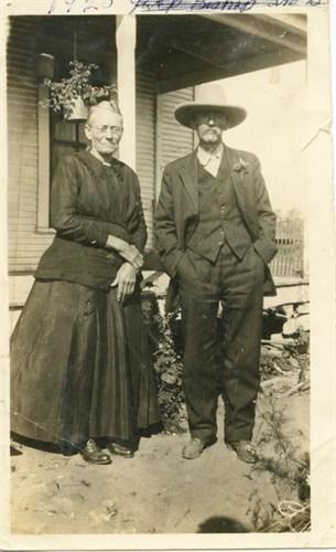 George Washington and Rebecca Jane Hale